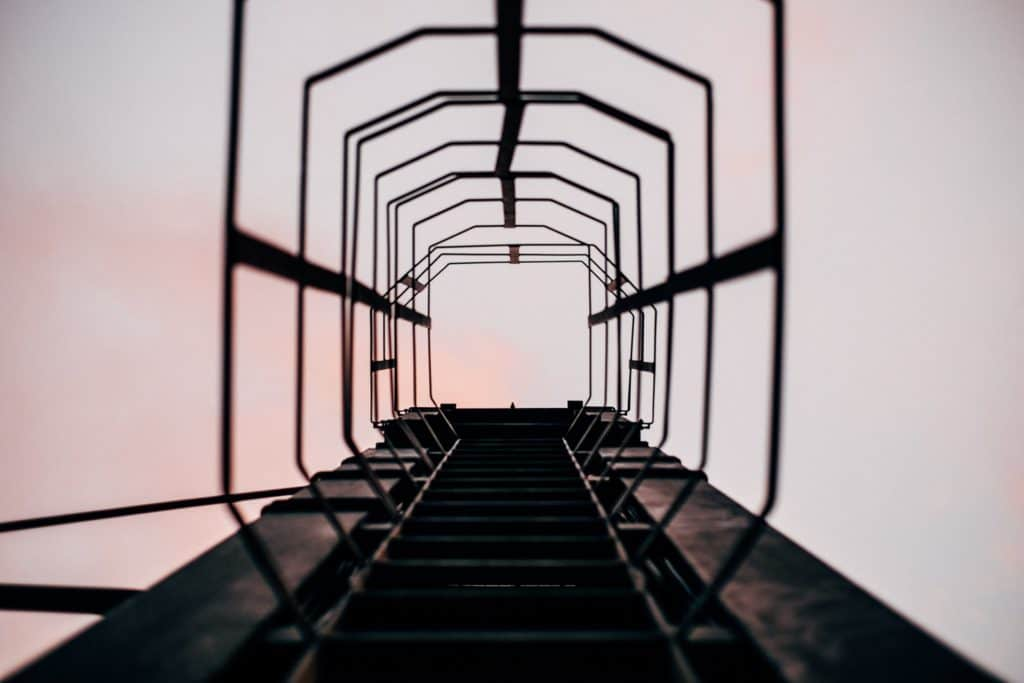 Steps to financial freedom are like climbing a ladder