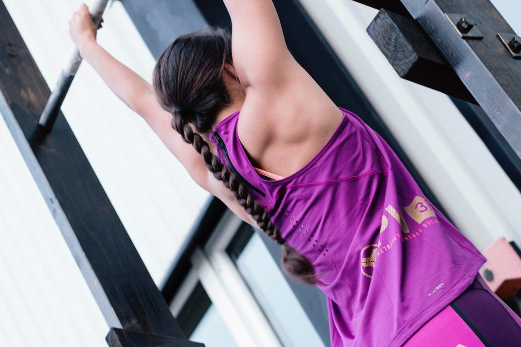 Pull-ups are a great strength exercise to get toned and strong for free