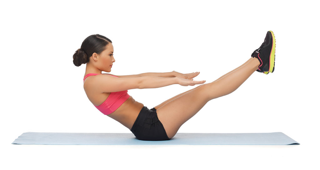 Try Pilates at home for free using You Tube