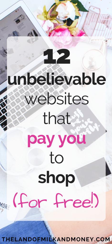 make money while shopping earn spending