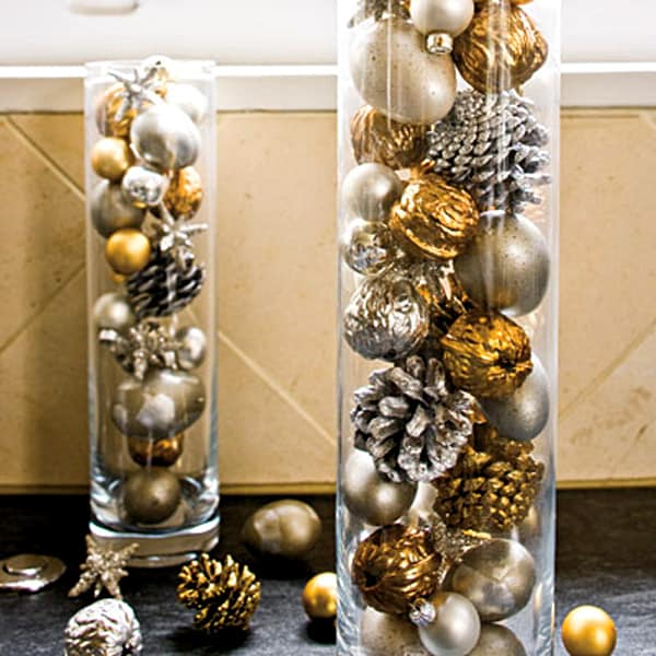 Cheap Christmas decorating ideas budget DIY decorations