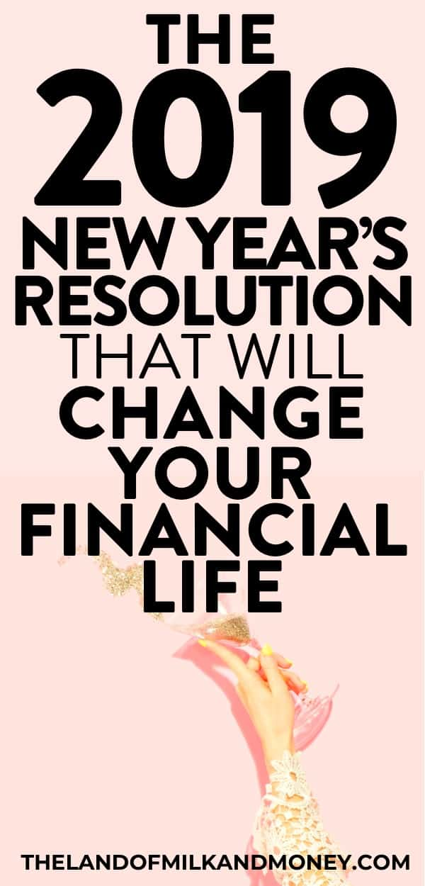 Amazing! These top 10 New Year's resolution ideas for 2019 are just what I needed to work on my money management next year. I'm really hoping to do more saving money, work on my personal finance situation, embrace frugal living and hopefully become debt free in the new year, so this list of resolutions are great finance tips. I'll definitely stick to them - just like my monthly budget, haha #personalfinance #moneysaving #debtfree #resolution #newyear