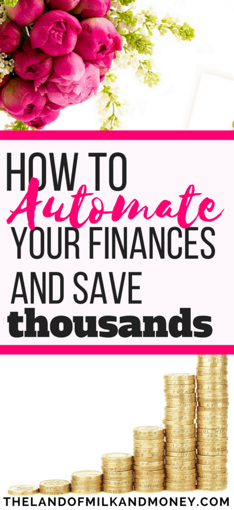 Automate your finances transfers make money online save money cash