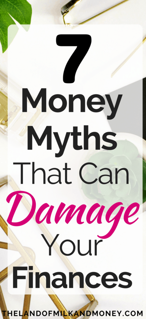 What not to do with your money finances myths bad ideas