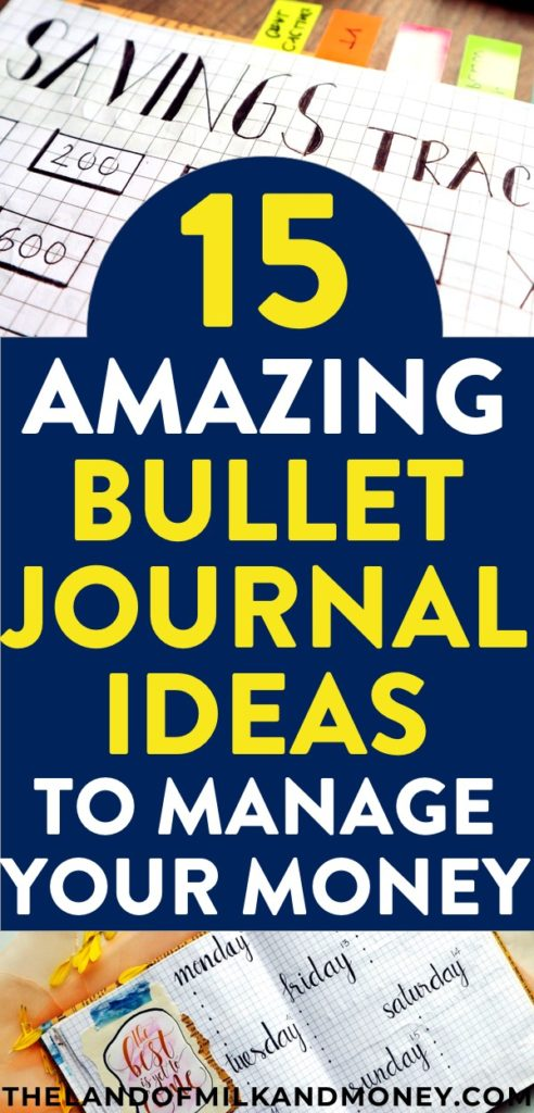 Amazing!! These bullet journal layout ideas are just the inspiration I need when figuring out how to start a bullet journal! I especially love the simple, minimalist ones! These are perfect for giving me tips and tricks to save money and live on a budget using the budget trackers #bulletjournal #budget #savemoney #bullet #journal #bujo #tracker #personalfinance #finance #frugal #frugalliving #money #saving #organized #inspiration