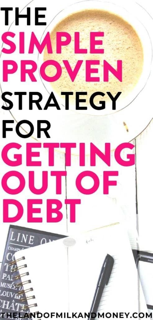 This is an amazing way for me to get out of debt! This strategy makes so much sense - I can't WAIT to finally pay off my debt!