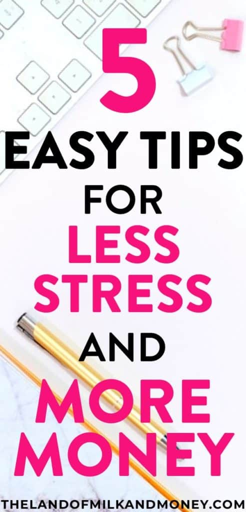 It's amazing that I can use these tips to save money AND have stress relief - all by simply having better organization in my life! My budget and my anxiety couldn't be more grateful for these ideas!