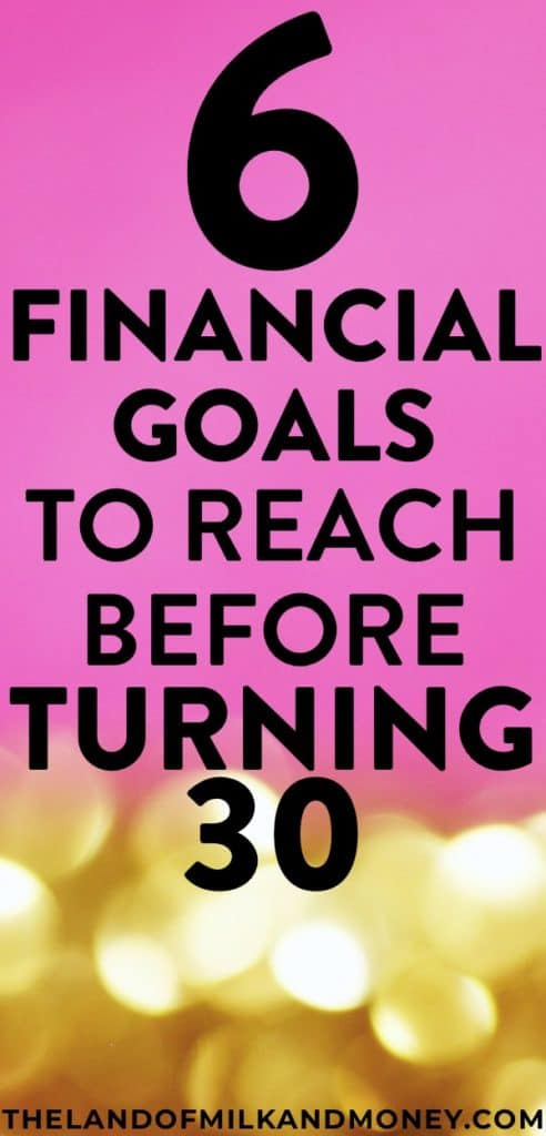 These finance tips are just what I needed with my 30th birthday coming up! I've been putting off managing money stuff for so long but I really have to start to save money and start budgeting, so these ideas and goals are great! #savemoney #financialfreedom #personalfinance #money #budget #frugal #hacks #tips #inspiration #birthday #save #investing #finances #advice