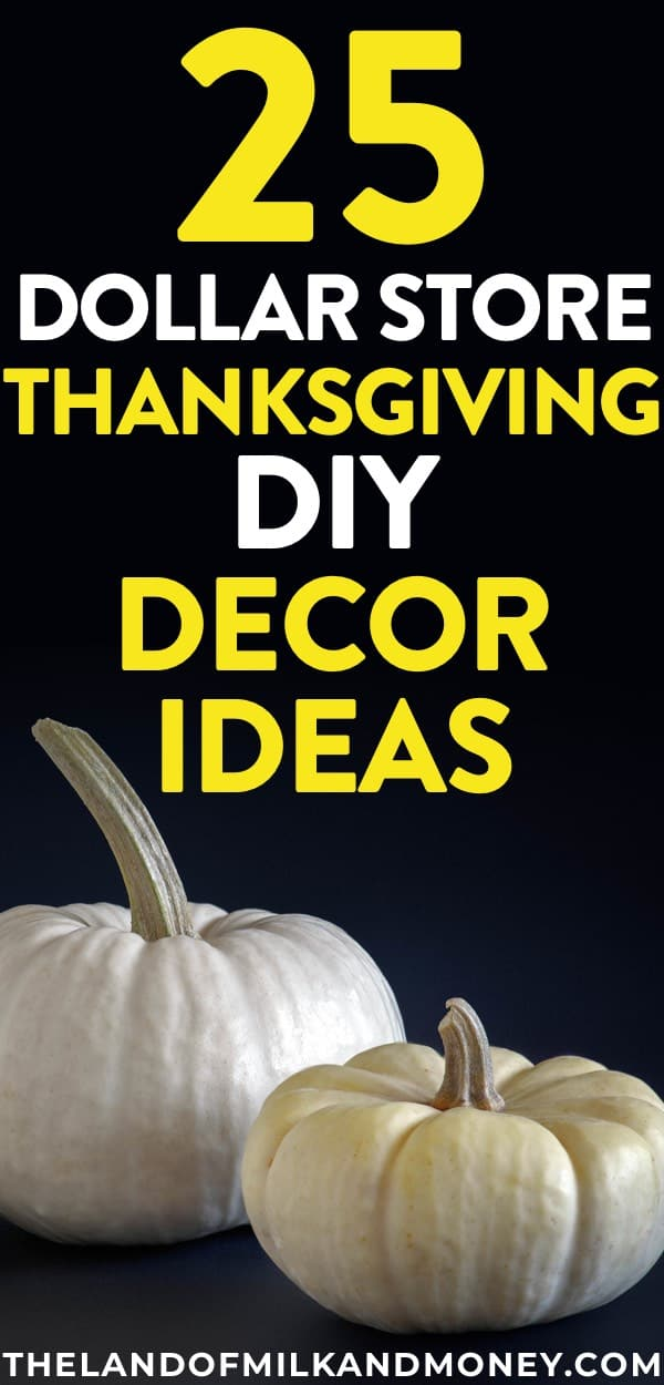 These DIY Thanksgiving Decorations Are Incredible   And So Easy And Cheap  Given They Use Things