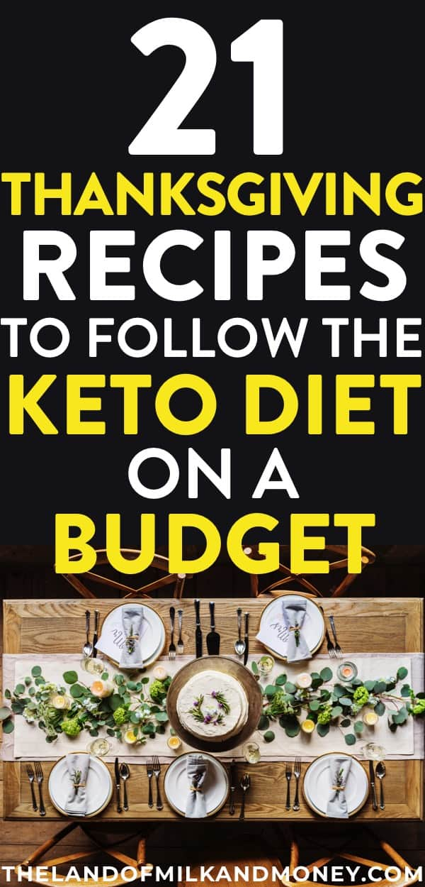 I can't believe these cheap Thanksgiving keto recipes will let me lose weight AND save money!! Having simple low carb dinner ideas for Thanksgiving while also being on a budget is amazing. And the fact that the tips are so easy is the best for frugal living beginners like me to meal plan!