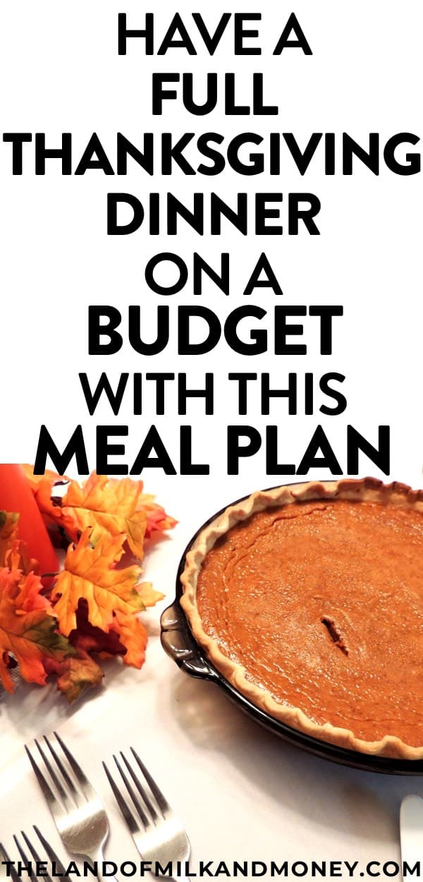 These simple Thanksgiving dinner recipes are JUST what we need for creating a cheap Thanksgiving menu this fall holiday season! These easy and healthy ideas will be perfect for our table to have a cheap Thanksgiving dinner on a budget - great for saving money! And the meal plan is incredible for our budget - I can't believe these Thanksgiving recipes will let us have main dishes, sides and dessert for less than $10 per person!