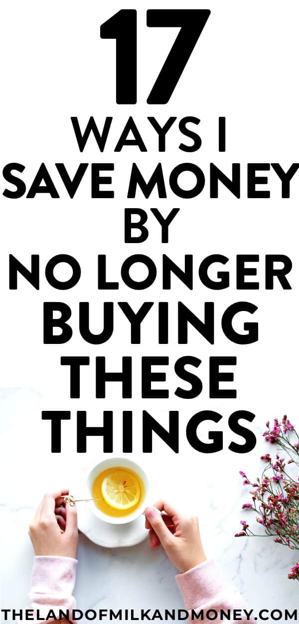 Wow, it's amazing how good these tips are for helping with money saving! These ideas for things to stop buying to save money and embrace frugal living are so easy to do - it's great motivation to actually do this list of tips and actually meet my money management goals!