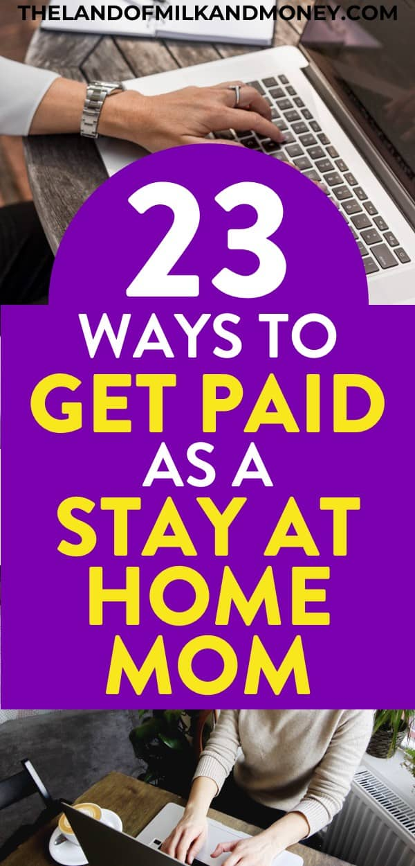 Wow, these are great ideas for stay at home mom jobs - or even just as a side hustle! I really needed some tips to make money online with my little one around so being able to work from home with these legitimate money makers (even with no experience) will be amazing for getting extra money! Bonus points for them being non phone and with no data entry...!