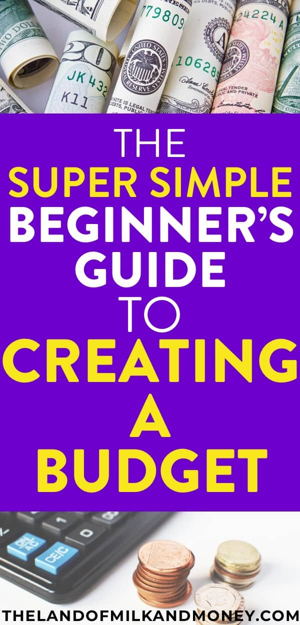 Amazing! I always thought that creating a budget would be hard but this shows that it's super easy for beginners like me to make a budget! The free monthly budget template definitely helps too. I love a good printable to help me with living on a budget!