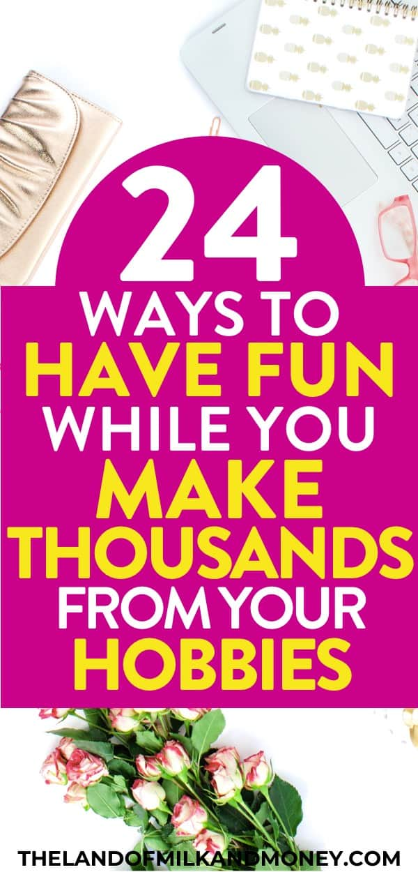 This list of ideas for hobbies that make money online and at home are amazing! I SO needed some extra cash, so these tips were great inspiration to try to get started at doing things like DIY crafts to make money for the house budget. I bet these would be fantastic for stay at home moms! Super fun, creative, interesting, easy - and cheap!
