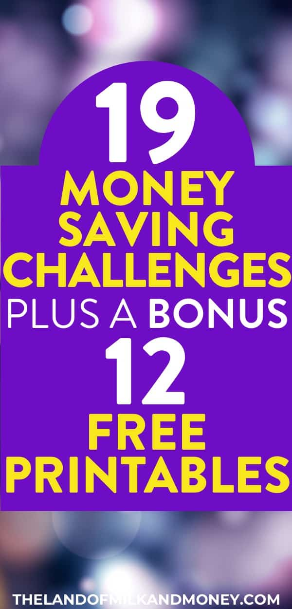 Wow! Using a money saving challenge to get better at my money management is one of the best money saving tips I've heard! It's such a great idea to have a choice of 30 day, monthly, or 52 week money saving challenges - and having free printable templates and worksheets makes it super easy to track using a money saving chart! I'm definitely using this to try to save 10000 to become debt free. This personal finance tip is perfect for wannabe money savers like me #savemoney #personalfinance