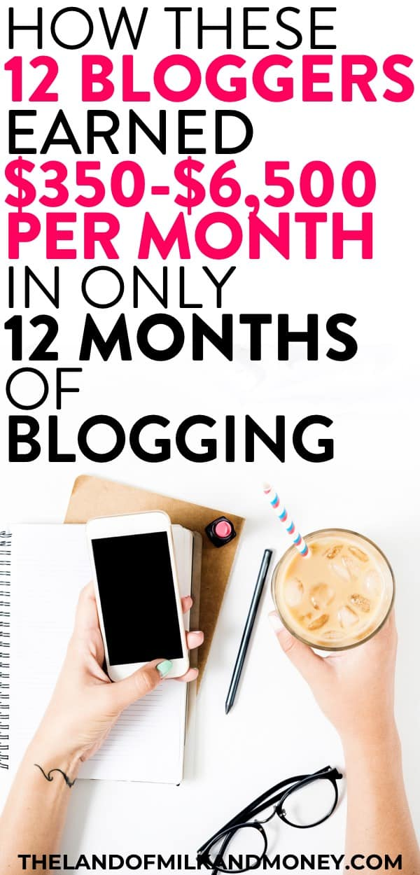 Wow! I'd wondered how much money can you make blogging, but it's crazy what these bloggers made after only one year based on these income reports! I so need a work from home business or even just a side hustle to make money online. So starting a blog to make money blogging seems like a great way to earn money online for money makers like me! #blogging #makemoney #sidehustle #workfromhome