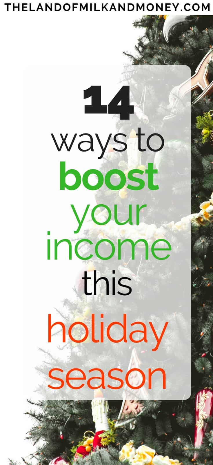 14 Ways For You To Make Quick Cash For The Holidays