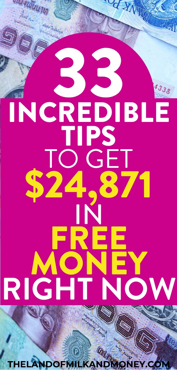 Amazing! I was wondering how to get free money right now (that was absolutely free no strings attached) so these hacks to get extra cash fast are awesome! Seeing tips on how I can earn with free money making apps, free money earning sites online, signup bonuses and more is great for a stay at home mom like me and my daughter loves seeing how to get free money now for college. Having ideas for how to make extra money on the side is perfect for my money management and personal finance situation!