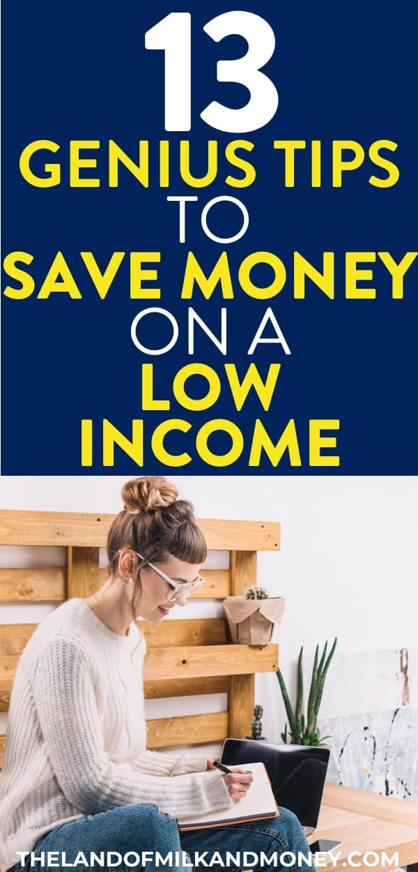 I so needed some budgeting on low income tips so these awesome ideas for how to save money are great! Having these budgeting tips for how to manage money with a budget system even when I'm living paycheck to paycheck is just what I need and the extra ways to save money also help with how to budget your money! Whether it's getting side hustle ideas for my build emergency fund plan or money saving tips to help with budgeting money, these saving money ideas will definitely help my money management